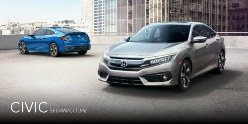 Honda Brochures   New Honda Vehicles Atlanta Area Honda Civic