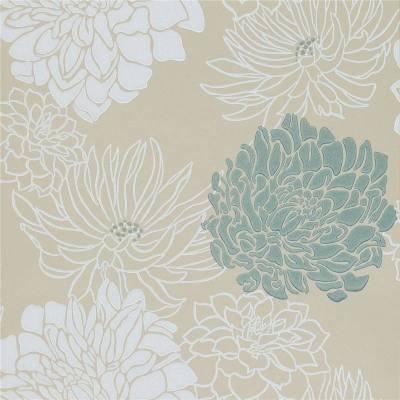 Cream / Teal / Silver / Gold - 30483 - Divine - Extravagance Harlequin Wallpaper | eBay