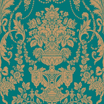 Shop The Wallpaper Studio Blue Strippable Vinyl Prepasted Classic Wallpaper at Lowes.com