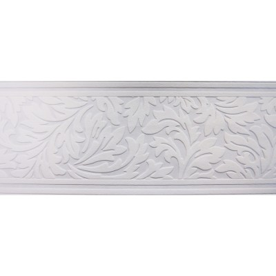 Shop allen + roth 7-in White Unpasted Wallpaper Border at Lowes.com