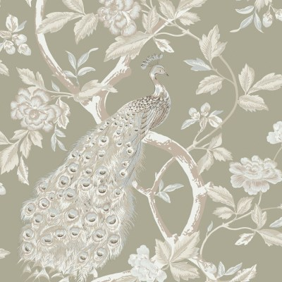 Shop Shand Kydd Metallic Strippable Prepasted Classic Wallpaper at Lowes.com