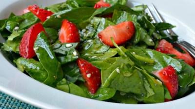 Spinach and Strawberry Salad Recipe - Allrecipes.com