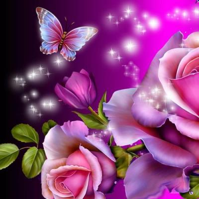 Butterfly magic 3D live wallpaper for Android. Butterfly magic 3D free download for tablet and ...