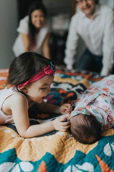 Baby Girl Felicity - Toronto Lifestyle Newborn Photographer