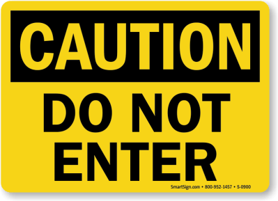 Free Safety Signs   Printable Safety Sign PDFs