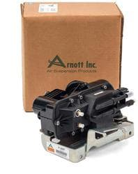 Air Suspension Components   2006 GMC Envoy XL   O Reilly Auto Parts Arnott Air Suspension Air Compressor Remanufactured