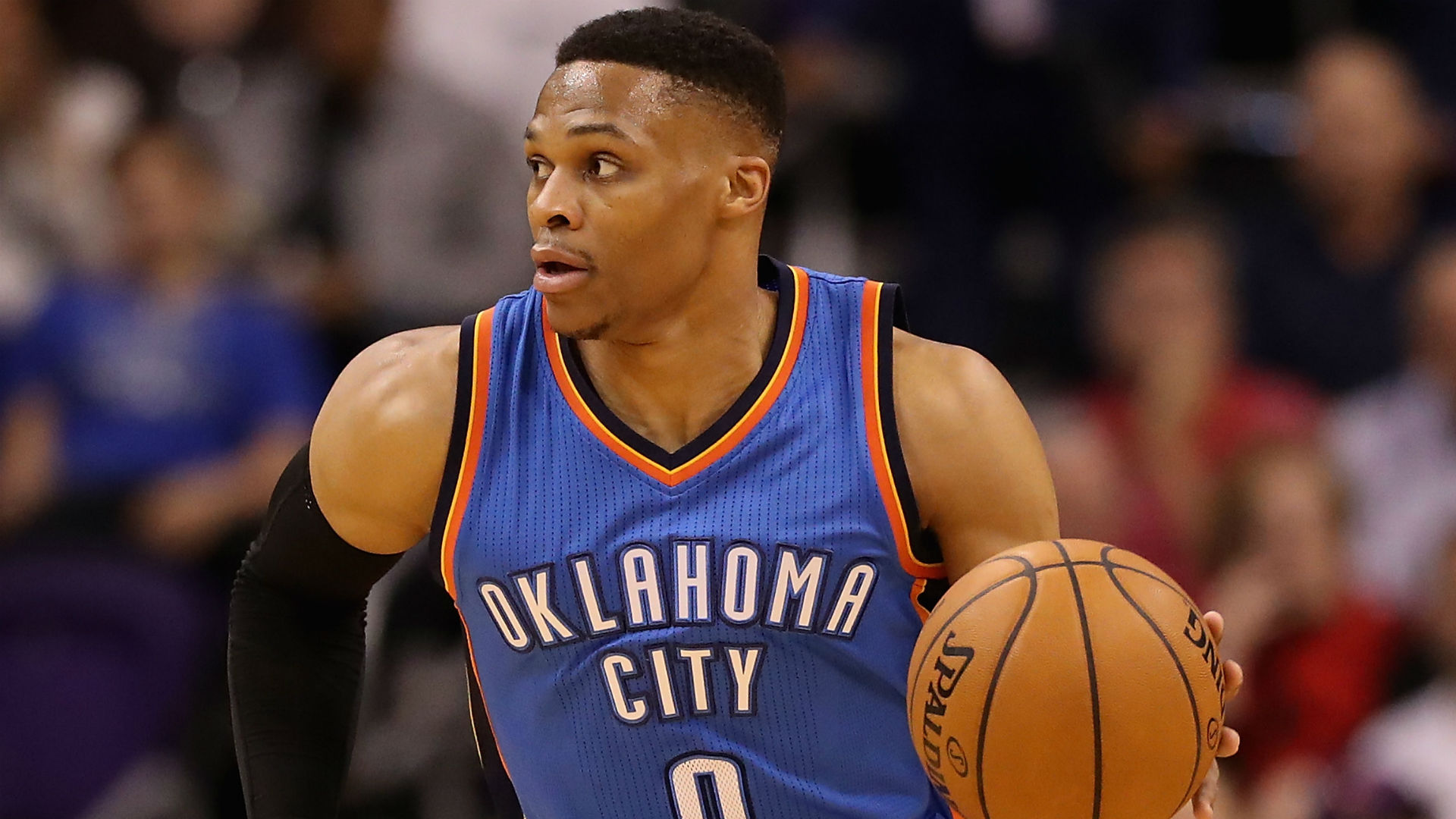 Russell Westbrook's newborn son receives first college scholarship 'offer' | NBA | Sporting News