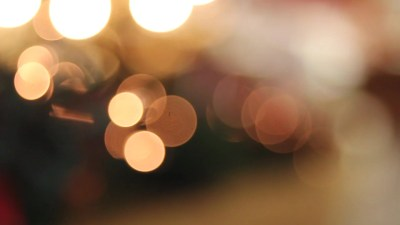 Holiday Bokeh Twinkling Out of Focus Background 1080p ~ Clip #12622877