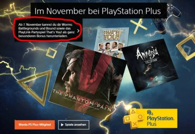 Rumour: Free PS Plus Games Leak for November 2017 - Push Square