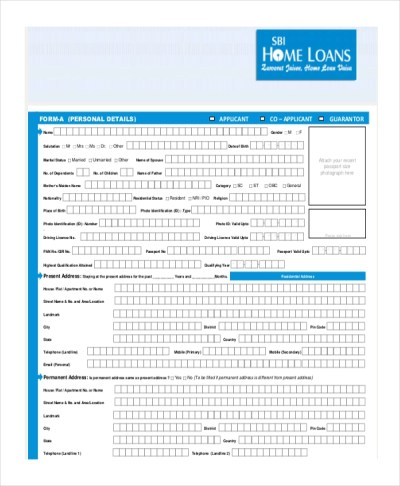 Sample Loan Application Form - 11+ Free Documents in Word, PDF