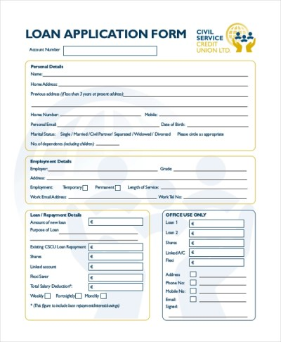 Sample Application Forms - 20+ Free Documents in Word, PDF