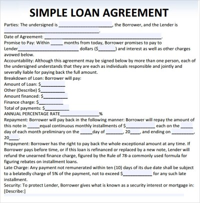 Sample Loan Agreement - 10+ Free Documents in PDF, Word