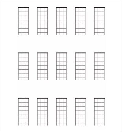 Sample Mandolin Chord Chart - 6+ Documents in PDF