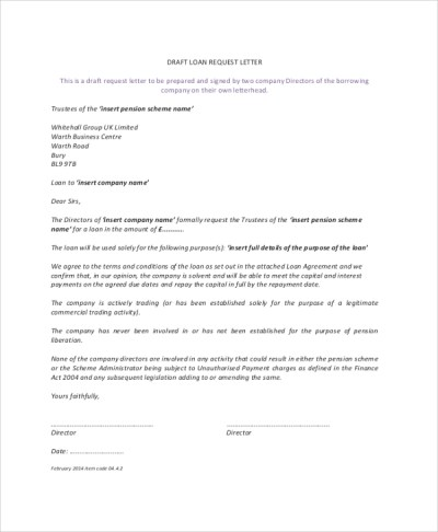 8+ Sample Loan Agreements – PDF, DOC | Sample Templates