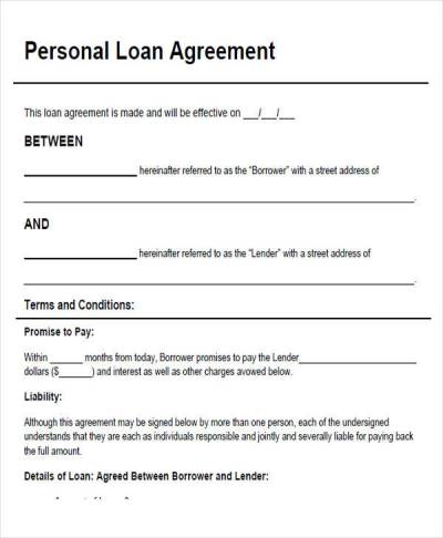 43+ Simple Agreement Forms | Sample Templates