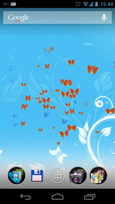 Butterflies 3D Live Wallpaper for Android - Download