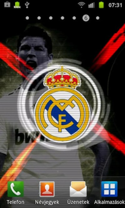 Real Madrid Live Wallpaper para Android - Descargar