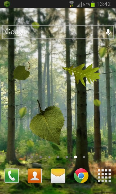 Forest Live Wallpaper for Android - Download