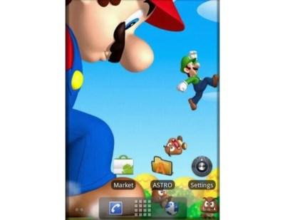 Super Mario Livewallpaper per Android - Download