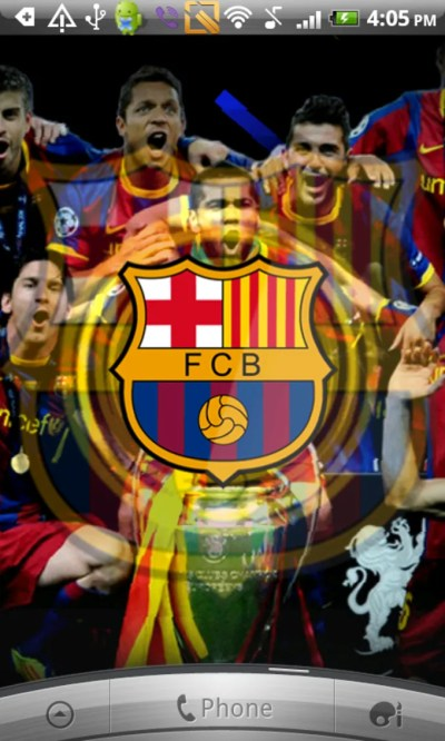 Barcelona Live Wallpaper para Android - Descargar