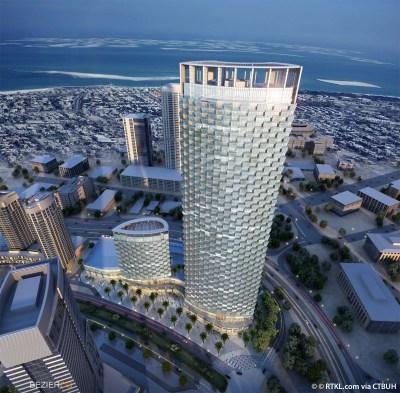 Burj Vista Tower 1 - The Skyscraper Center
