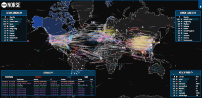Watch the web get hacked in real time on this mesmerizing map | PCWorld