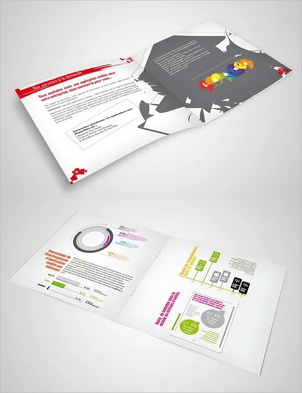17  Fresh Digital Brochure Templates   Free PSD  Vector EPS  PNG     information digital brochure design