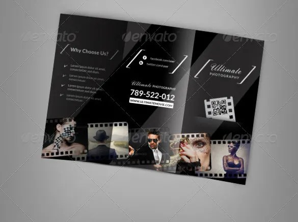 12  Amazing Video Brochure Templates   Free   Premium Templates Video Brochure Design Templates