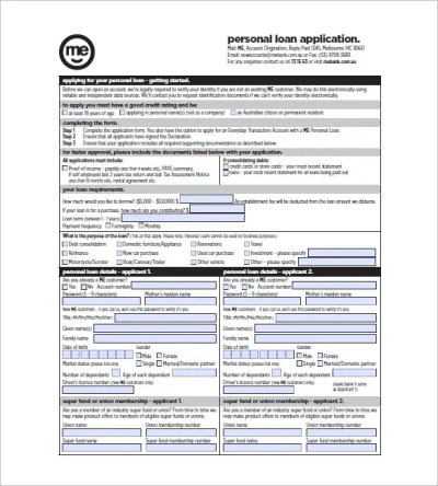 8+ Note Template for Personal Loan Templates – Free Sample, Example, Format Download! | Free ...