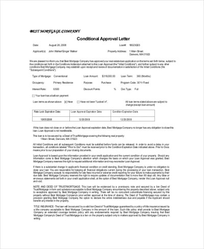 10+ Approval Letter Templates - PDF, DOC | Free & Premium Templates