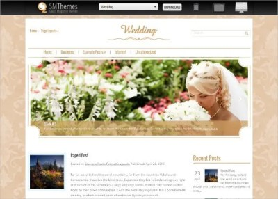 37 Free Wedding Website Themes & Templates | Free ...