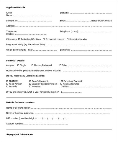 Loan Agreement Form - 14+ Free PDF Documents Download | Free & Premium Templates