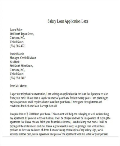 43+ Formal Application Letter Template | Free & Premium Templates