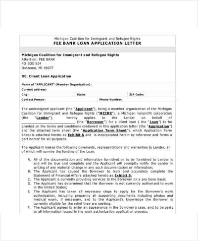 41+ Application Letter Templates Format - DOC, PDF   Free & Premium Templates