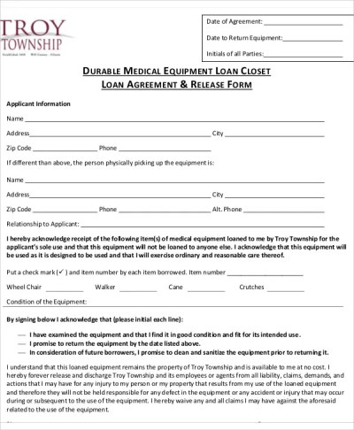 25+ Loan Agreement Templates | Free & Premium Templates