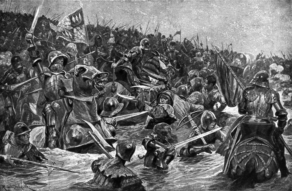 The Medieval Somme  forgotten battle that was the bloodiest fought     The Medieval Somme  forgotten battle that was the bloodiest fought on  British soil