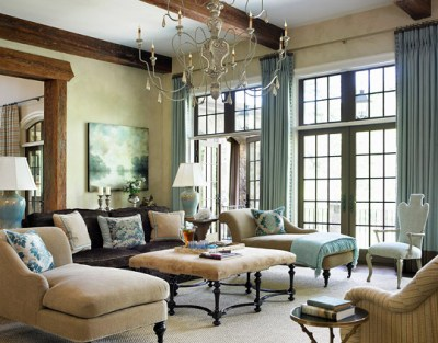 Decorating Ideas: Elegant Living Rooms | Traditional Home