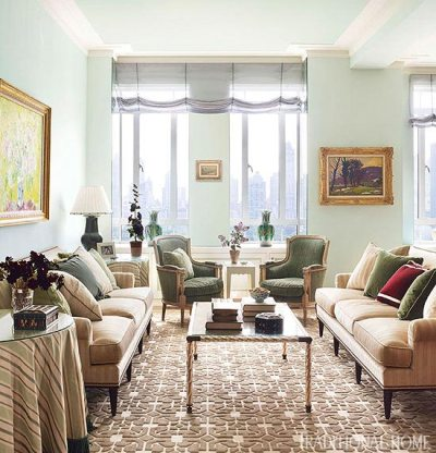 New York Apartment with Elegant British Style   Traditional Home