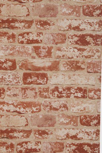 Brick Trompe LOeil Wallpaper - Urban Outfitters
