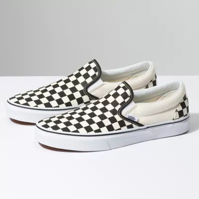 Checkerboard Slip On   Shop Shoes At Vans Checkerboard Slip On