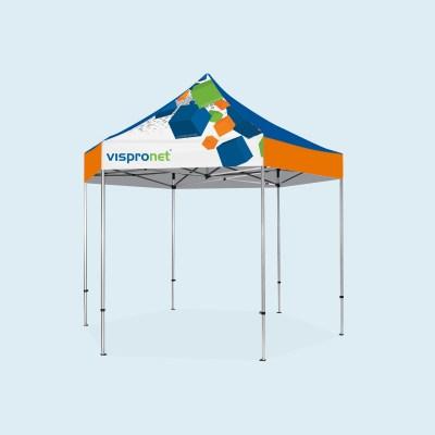 13x13 Pavilion Pop Up Tent w/ Full Print - Custom Event Canopy