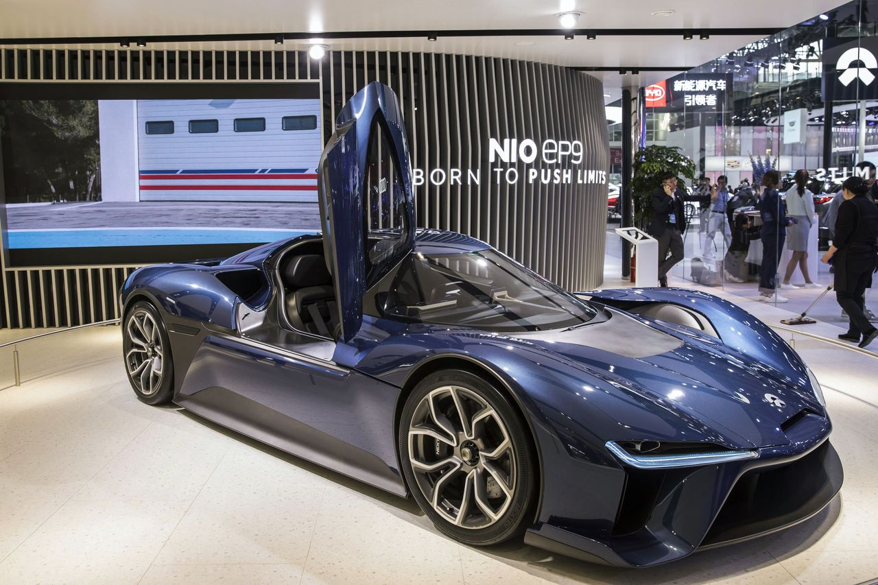 SoftBank in Talks to Buy IPO Shares of Chinese Electric-Car Maker NIO - WSJ