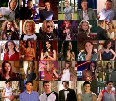 One Tree Hill images main cast through the years HD wallpaper and background photos (2460807)