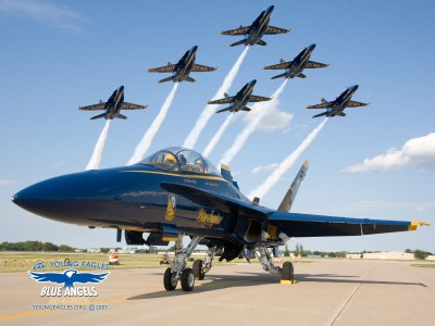 22 Blue Angels HD Wallpapers | Background Images - Wallpaper Abyss