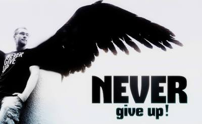 Never Give Up - Angel Computer Wallpapers, Desktop Backgrounds | 1752x1080 | ID:433791