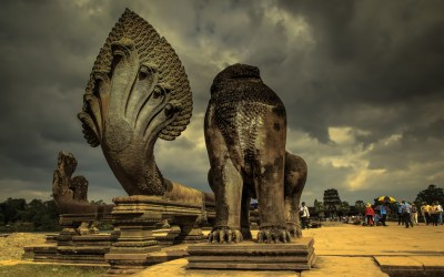 13 Angkor Wat HD Wallpapers | Backgrounds - Wallpaper Abyss