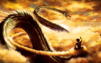 Anime Dragon Ball Z Dragon Ball Goku Shenron HD Wallpaper   Background Image
