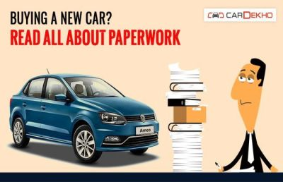 Buying A New Car: All You Need To Know About Paperwork | Buying and Selling | CarDekho.com