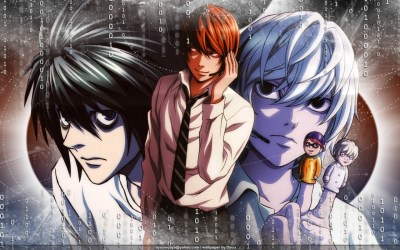 L, LIGHT Y NEAR - Death Note Wallpaper (13555677) - Fanpop