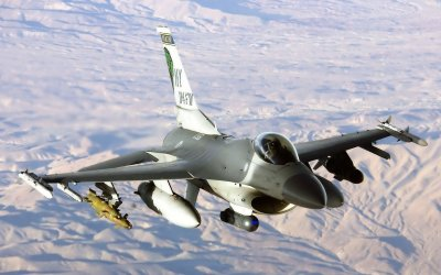 General Dynamics F-16 Fighting Falcon HD Wallpaper | Background Image | 1920x1200 | ID:199399 ...